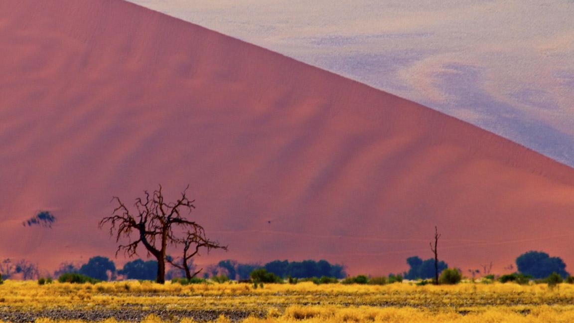 Duene Sossusvlei auf Namibia Reise