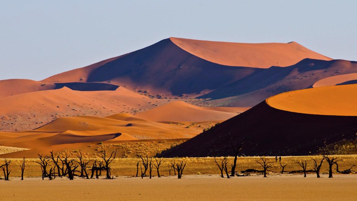 Namibia Reise - Dünen in Sossusvlei