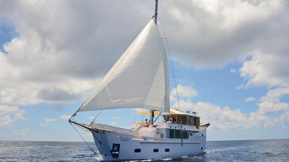 Malediven - Luxusyacht Soneva in Aqua