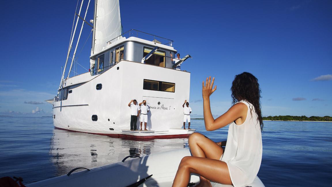 Private Luxuszacht in den Malediven - Soneva in Aqua