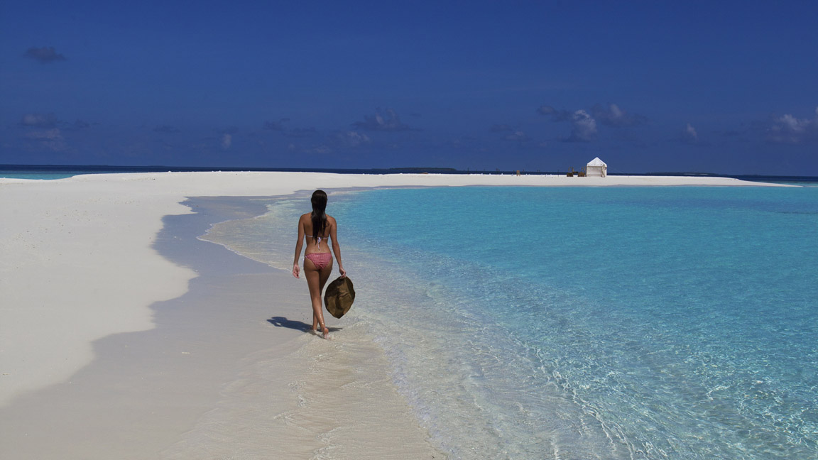 Sandbank - Soneva Fushi - Malediven