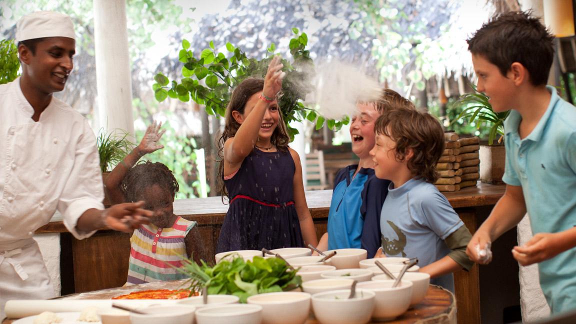 Soneva Fushi - Kinder Kochkurs