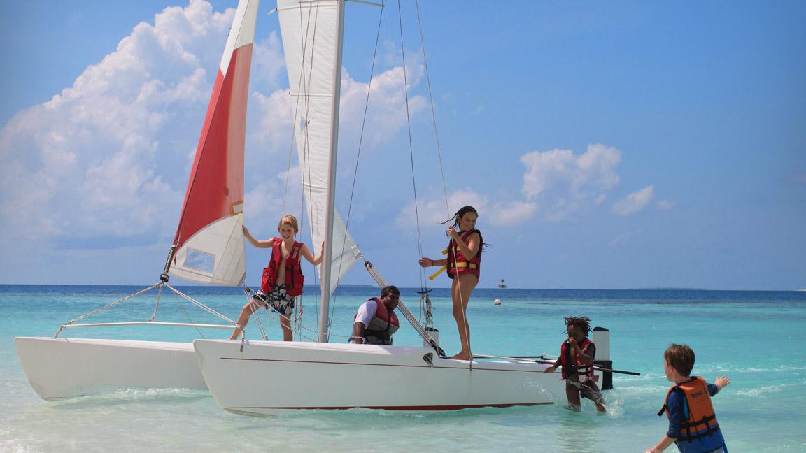 Soneva Fushi - Wassersport mit Kindern