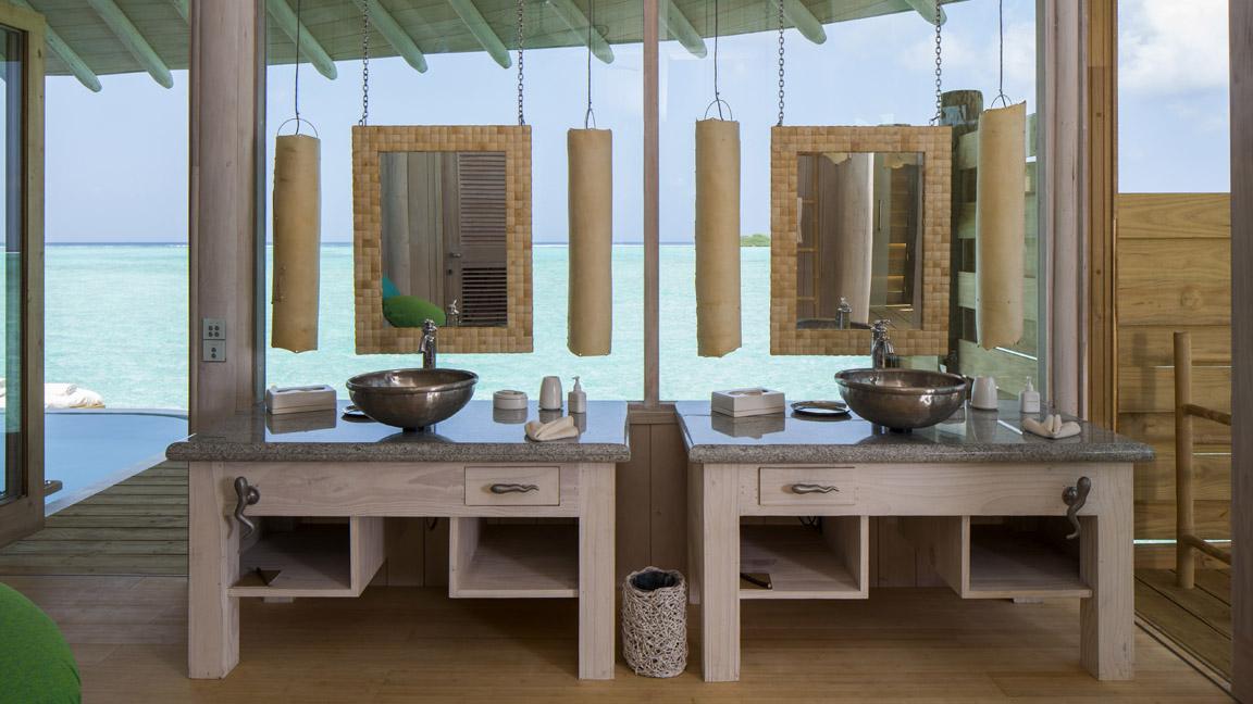 Soneva Jani - Privates Luxus-Badezimmer