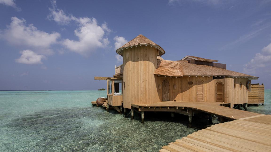 Soneva Jani - Villa auf dem Wasser