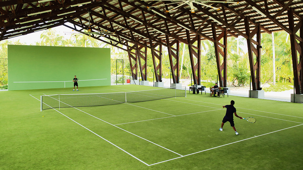 Velaa Private Island - Tennis