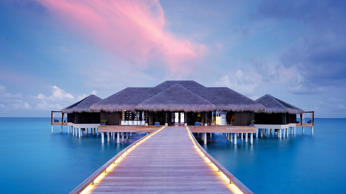 Velaa Private Island - Spa My Blend by Clarins - Exterior View