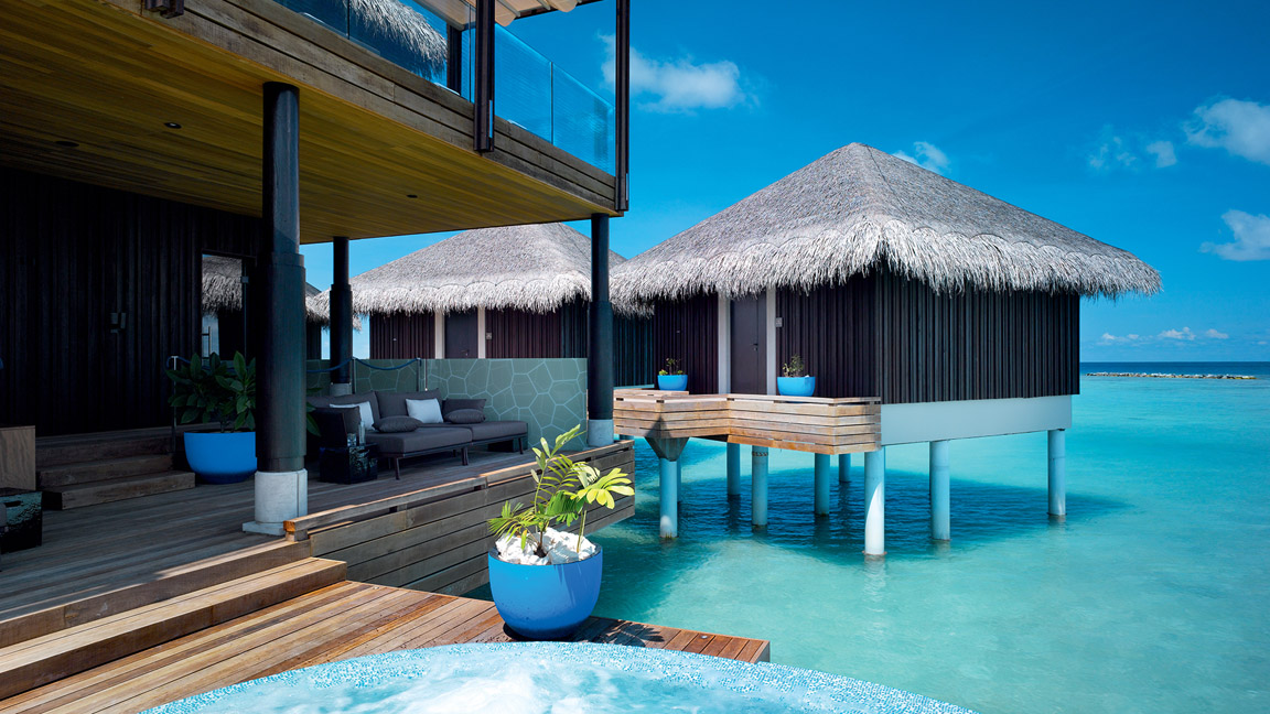 Velaa Private Island - Spa My Blend by Clarins - Jacuzzi