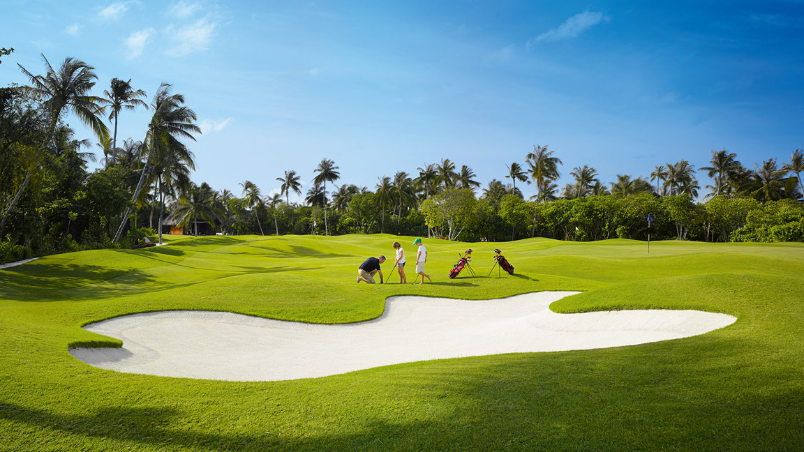 Velaa Private Island - Golfen