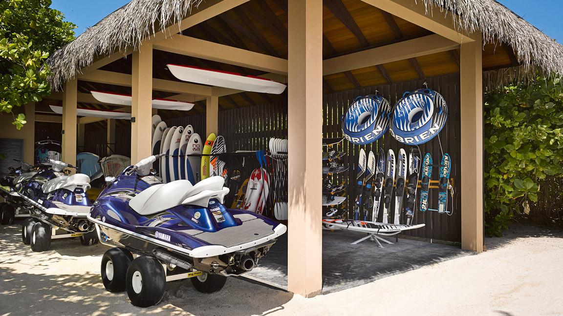 Velaa Private Island - Water Sports Pavilion