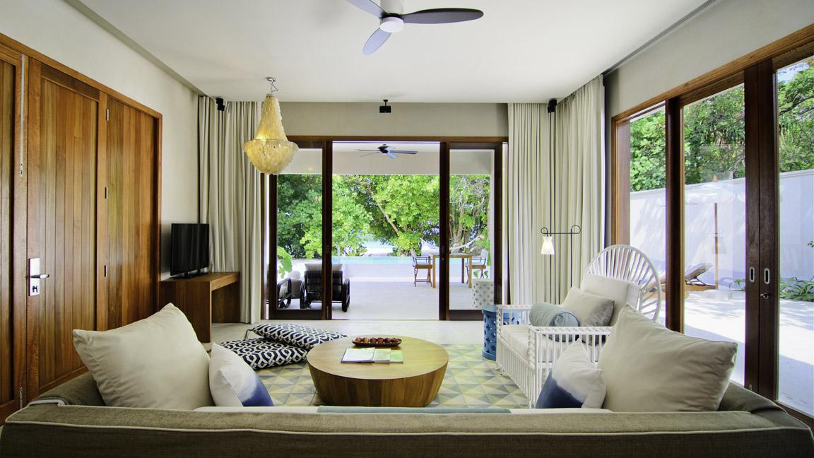 Amilla Fushi Beach House Lounge