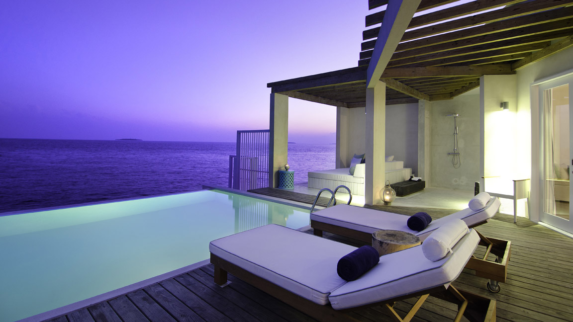 Amilla Fushi Ocean Reef House Exterior