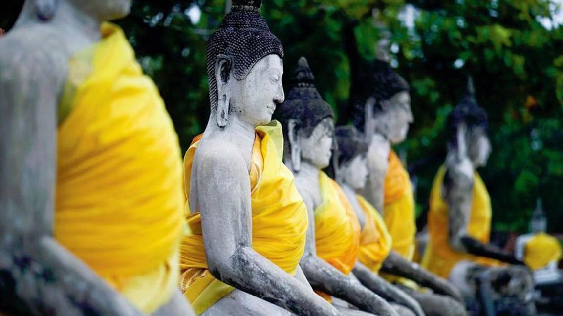 Ayutthaya-Wat-Yai-Chai-Mongkhon in Thailand