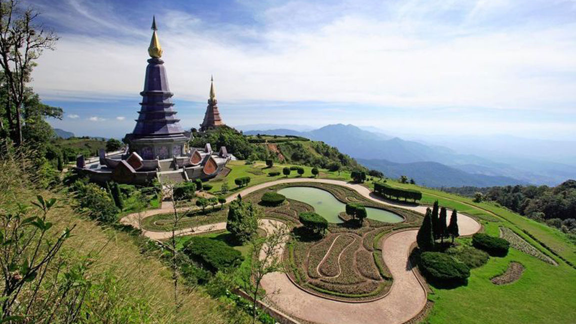 Chiang-Mai-Doi-Inthanon-National-Park in Thailand