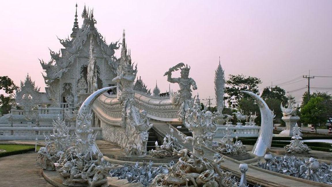 Chiang-Rai-Wat in Thailand