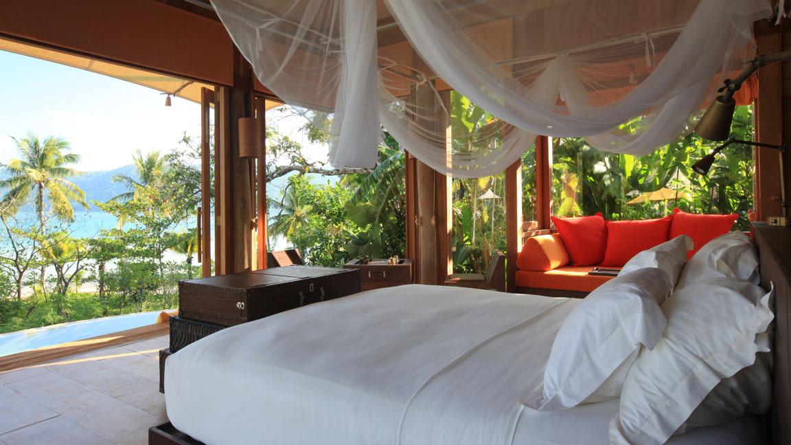 Soneva Kiri - Beach Villa Suite Bedroom
