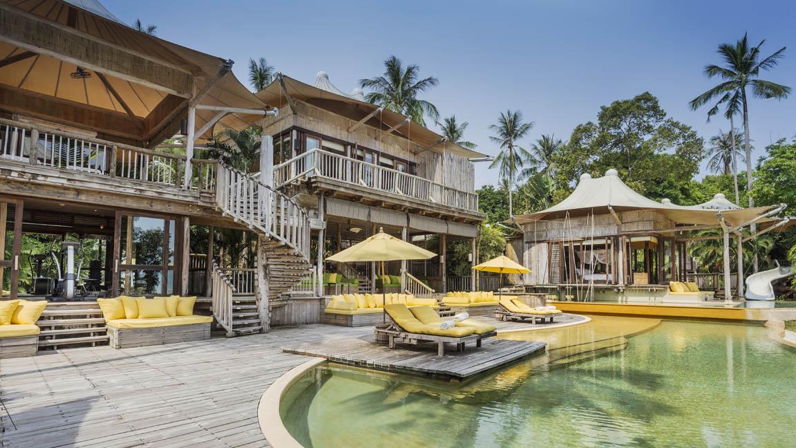 Soneva Kiri Private Beach Pool Reserve - exterior by Asit Maneesarn