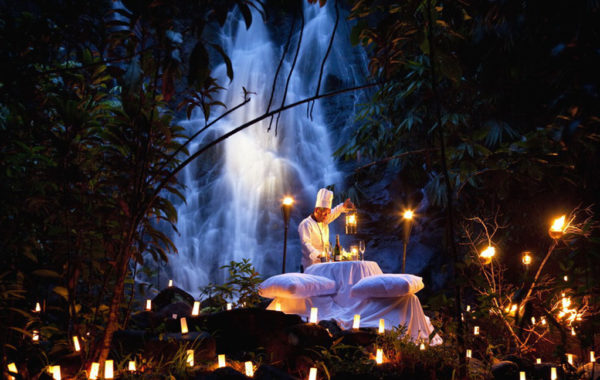 The Sarojin Thailand - Privates Waterfall Dinner