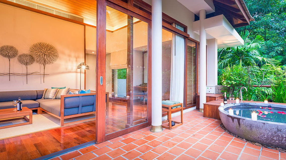 The Sarojin Thailand - Spa Suite Terrasse