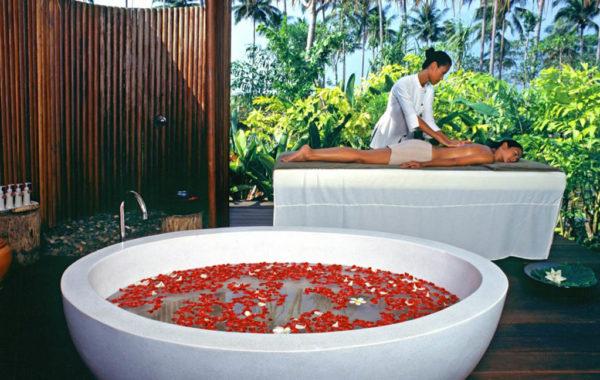 The Sarojin Thailand - Spa mit Massage