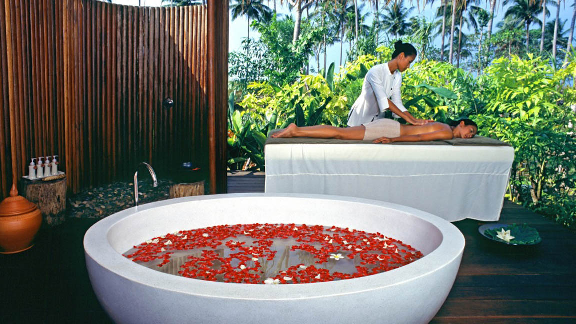 The Sarojin Thailand - Spa mit Massage
