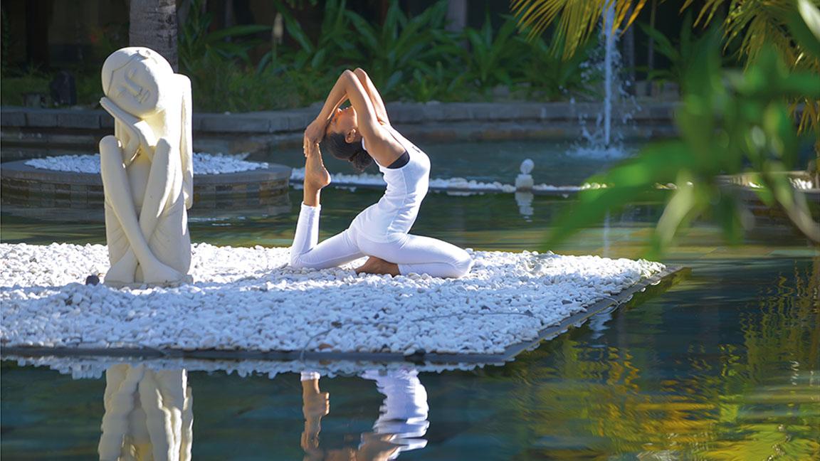 Beachcomber Paradis ´- Yoga in traumhafter Umgebung