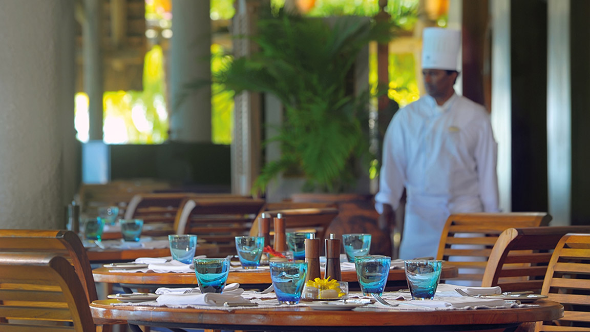 Beachcomber Paradis - Dining mit Stil