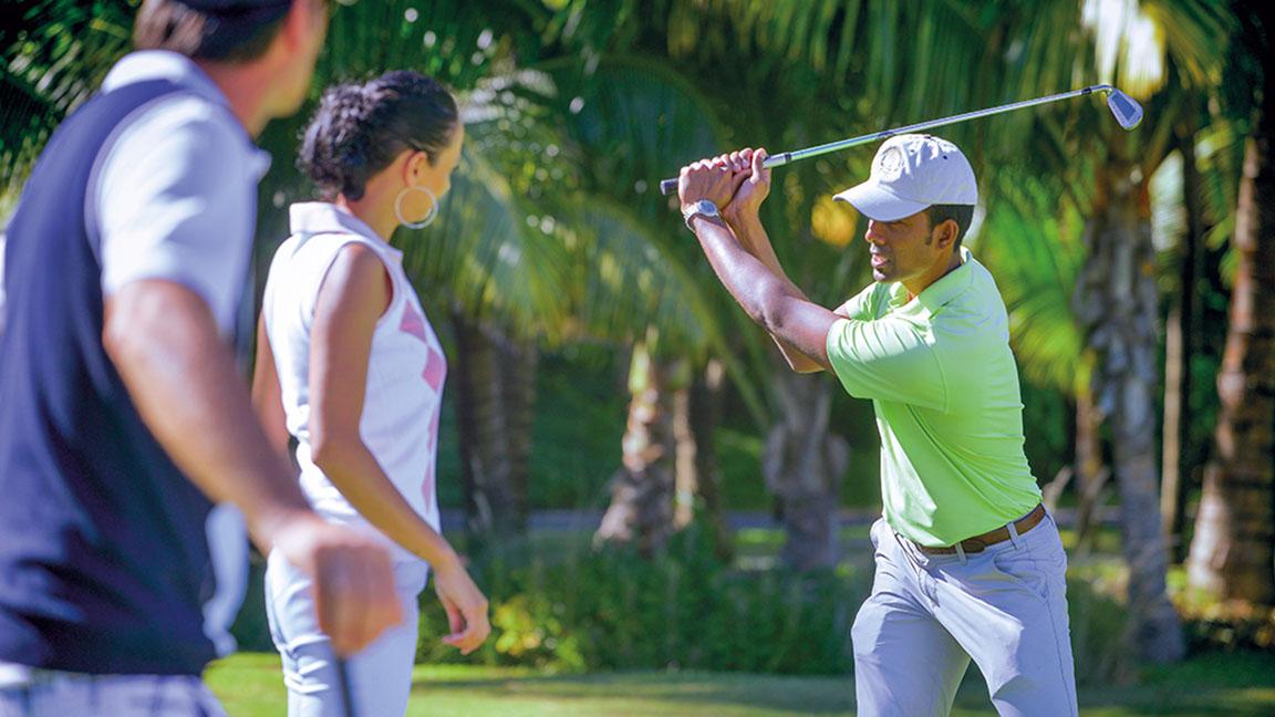 Beachcomber Paradis - Golfkurs