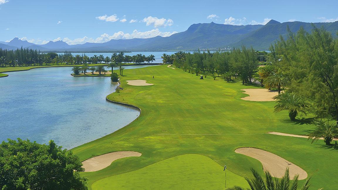 Beachcomber Paradis - Golfplatz