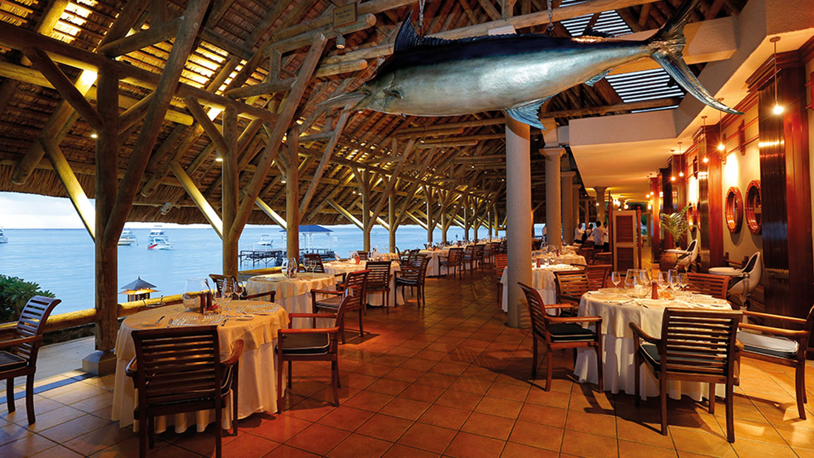 Beachcomber Paradis - Hauptrestaurant