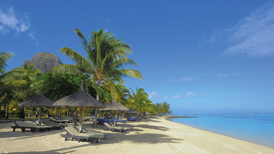 Beachcomber Paradis - Postkartenidylle