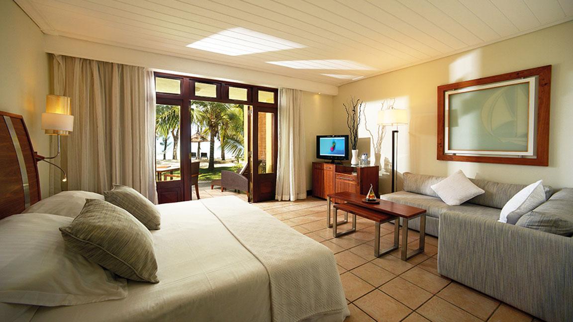 Beachcomber Paradis - Schlafzimmer Strand Villa