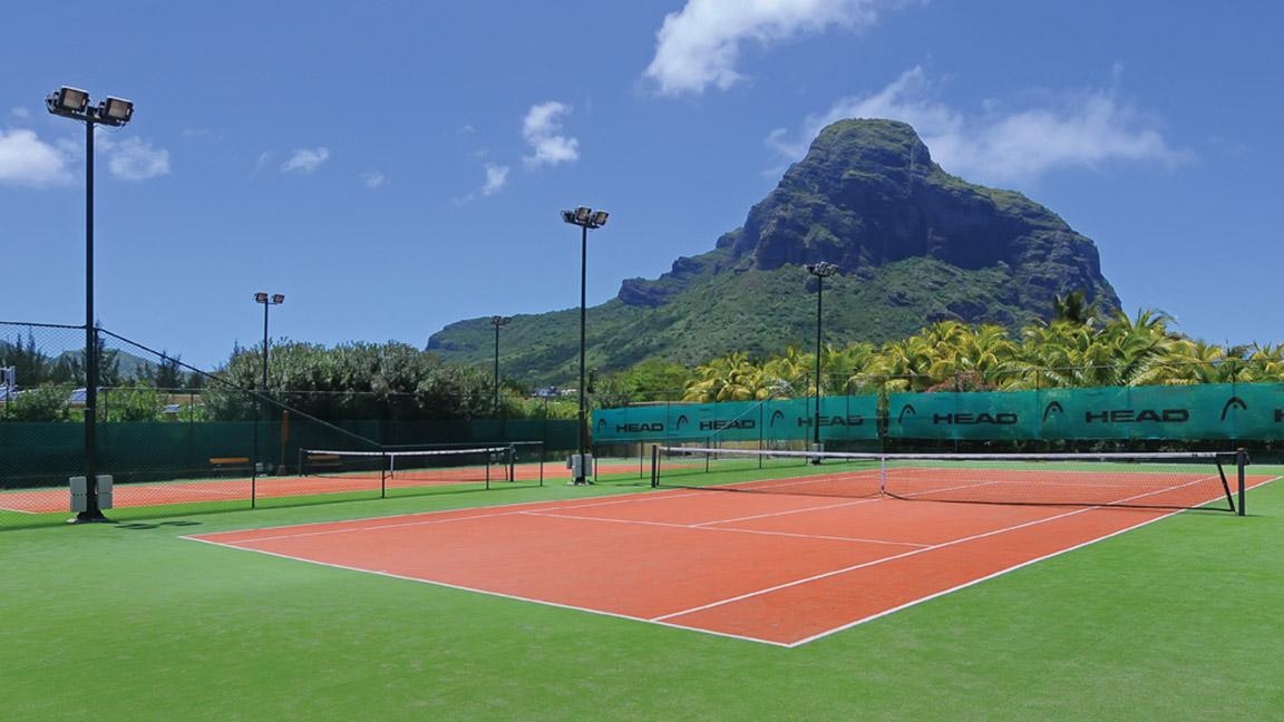 Beachcomber Paradis - Tennisanlage