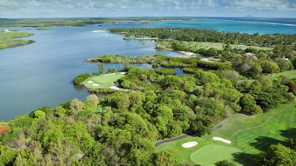 Constance Le Prince Maurice - Golf Kurs aus der Luft
