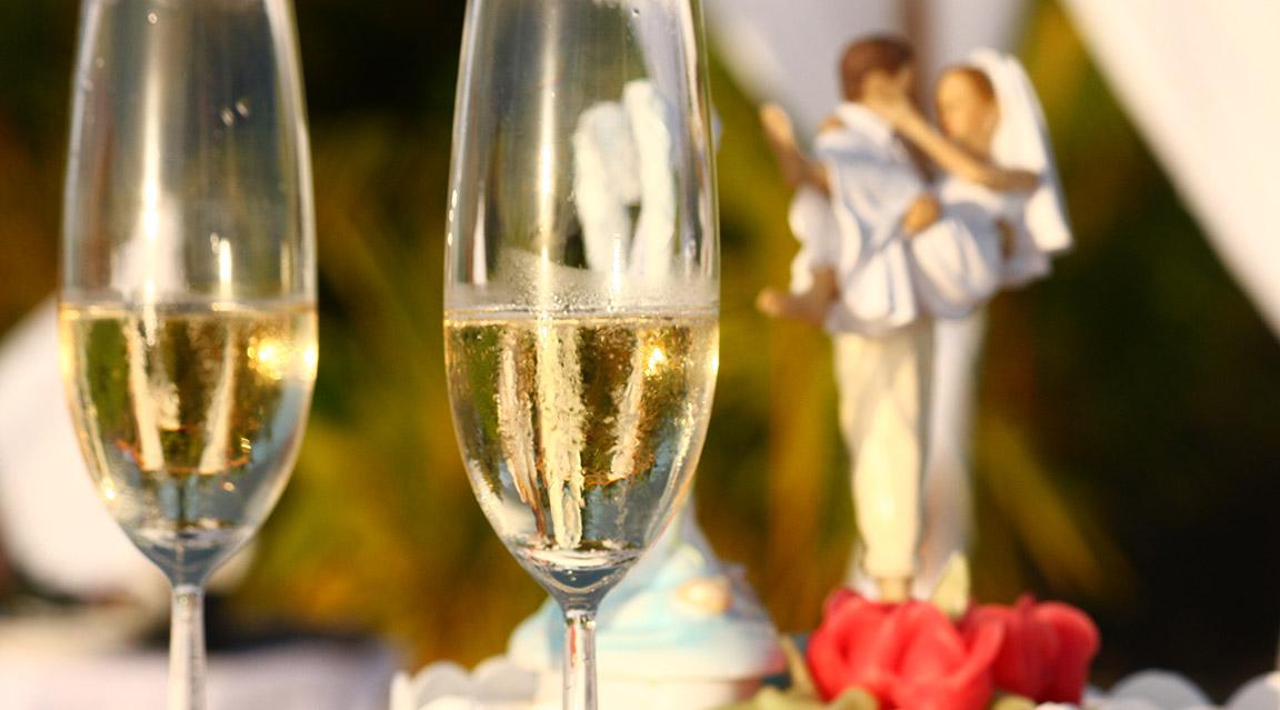 Hochzeit im Mirihi Island Resort