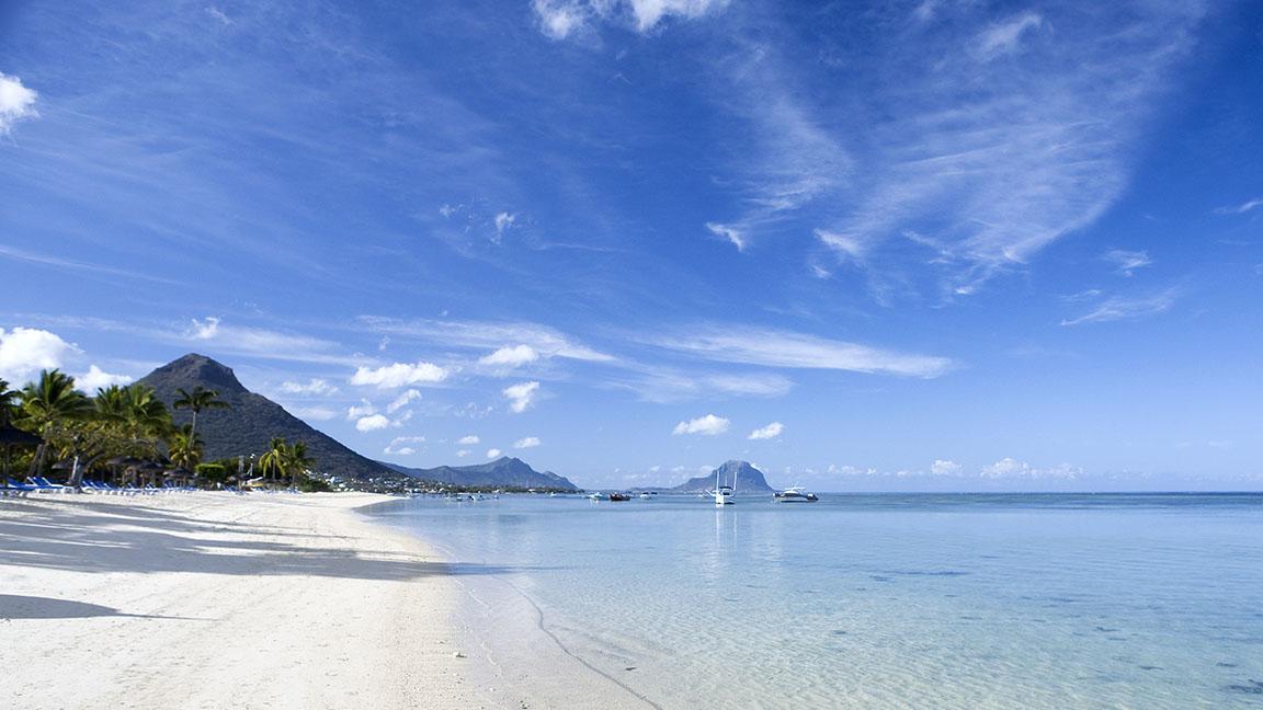 Luxusreise Mauritius - Traumstrand