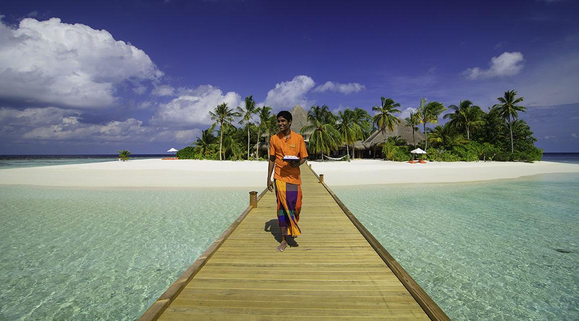 Mirihi Island Resort - Herzlich Willkommen