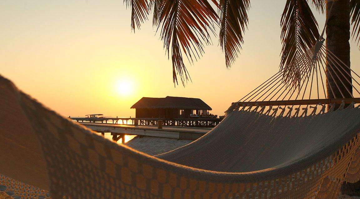 Mirihi Island Resort - Sonnenuntergang