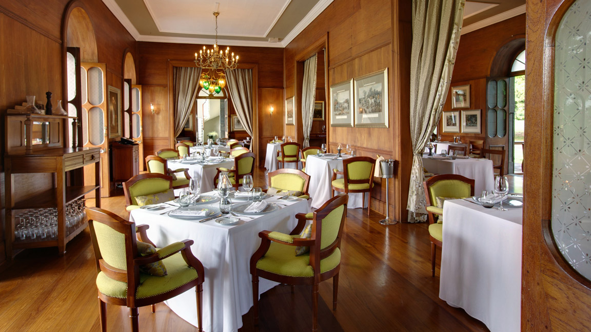 Restaurant im Heritage Le Telfair
