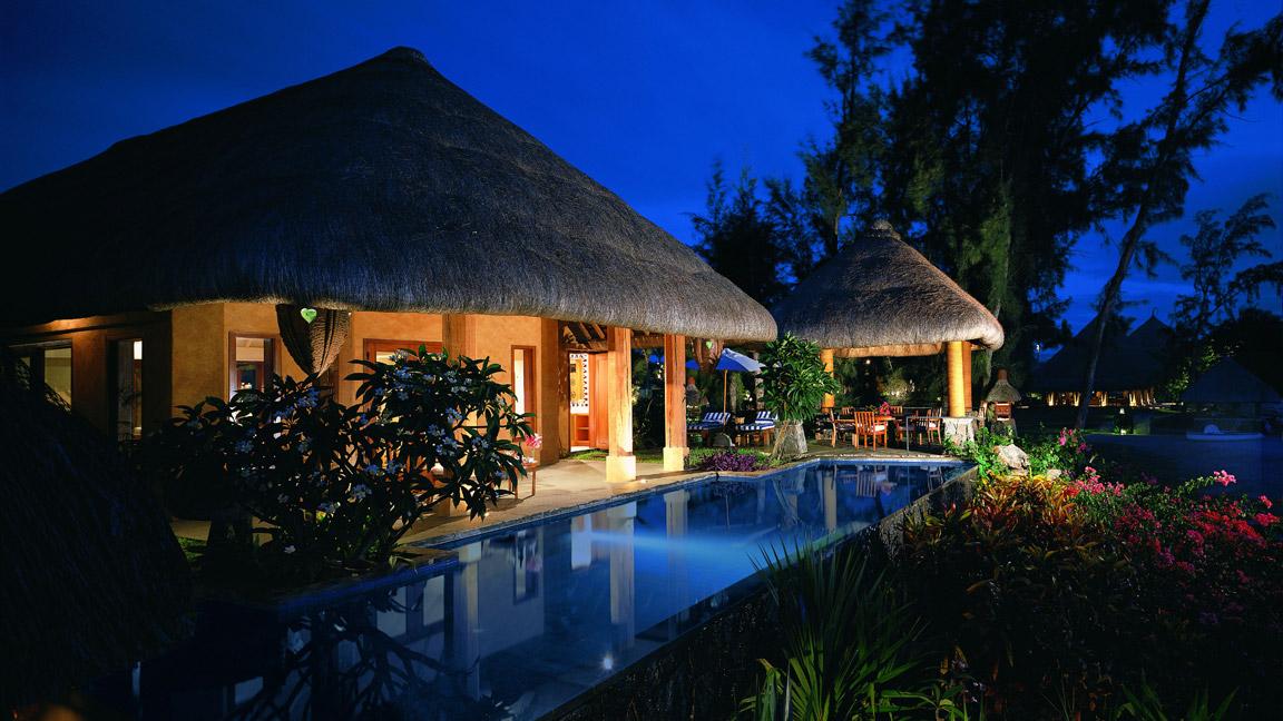 The Oberoi Mauritius --Abendidylle