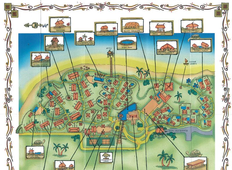The Oberoi Mauritius - Karte