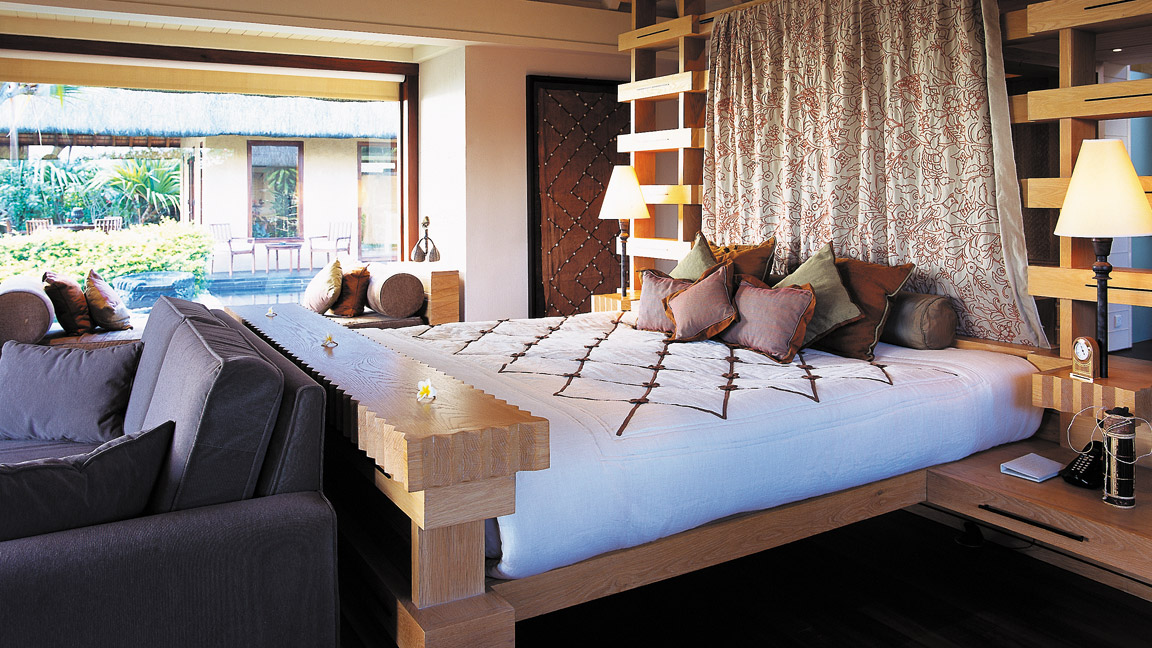 The Oberoi Mauritius - Royal Villa Schlafraum