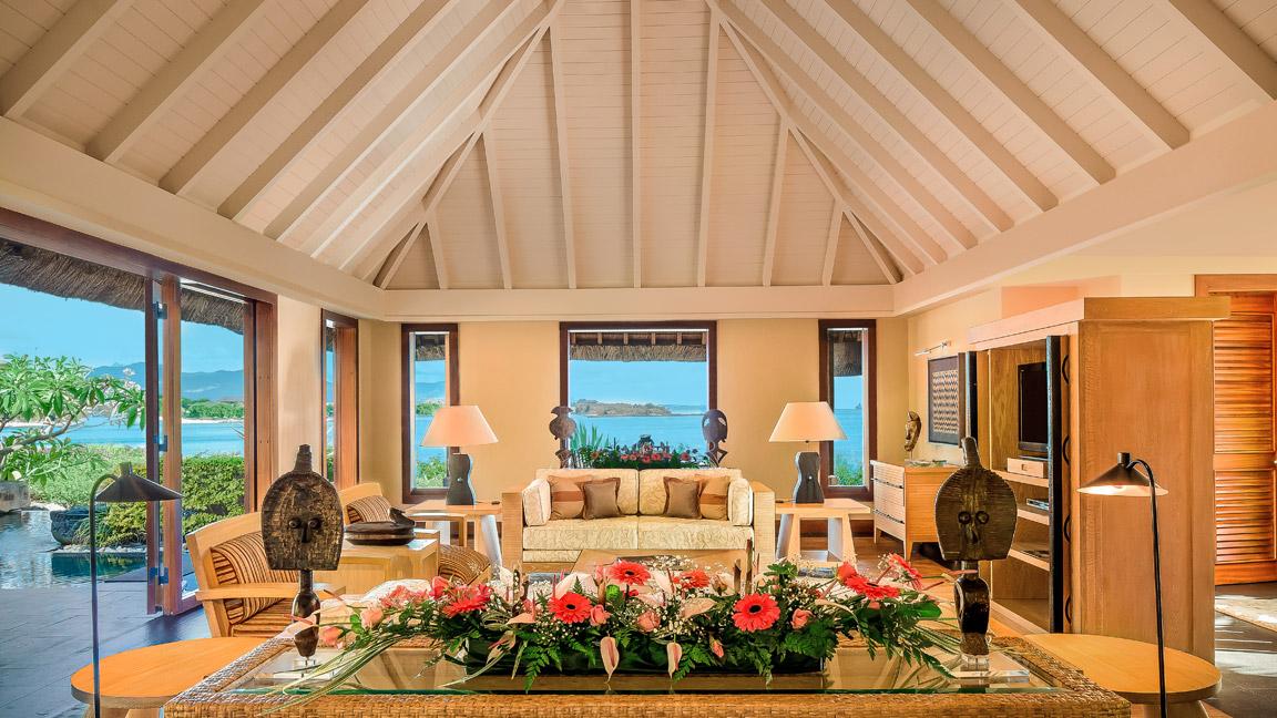 The Oberoi Mauritius - Royal Villa Wohnraum