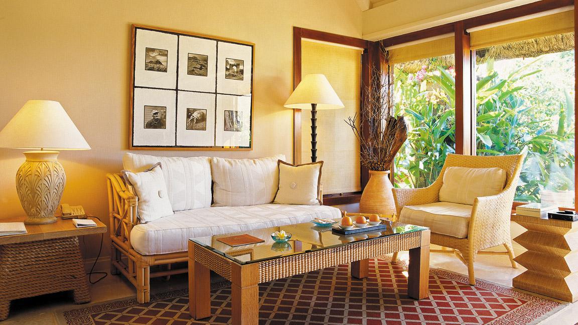 The Oberoi Mauritius - Wohnzimmer