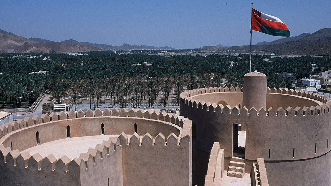 Turm eines Sultanats in Oman