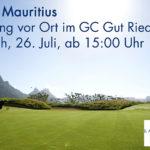 Infoabend - Golfen auf Mauritius