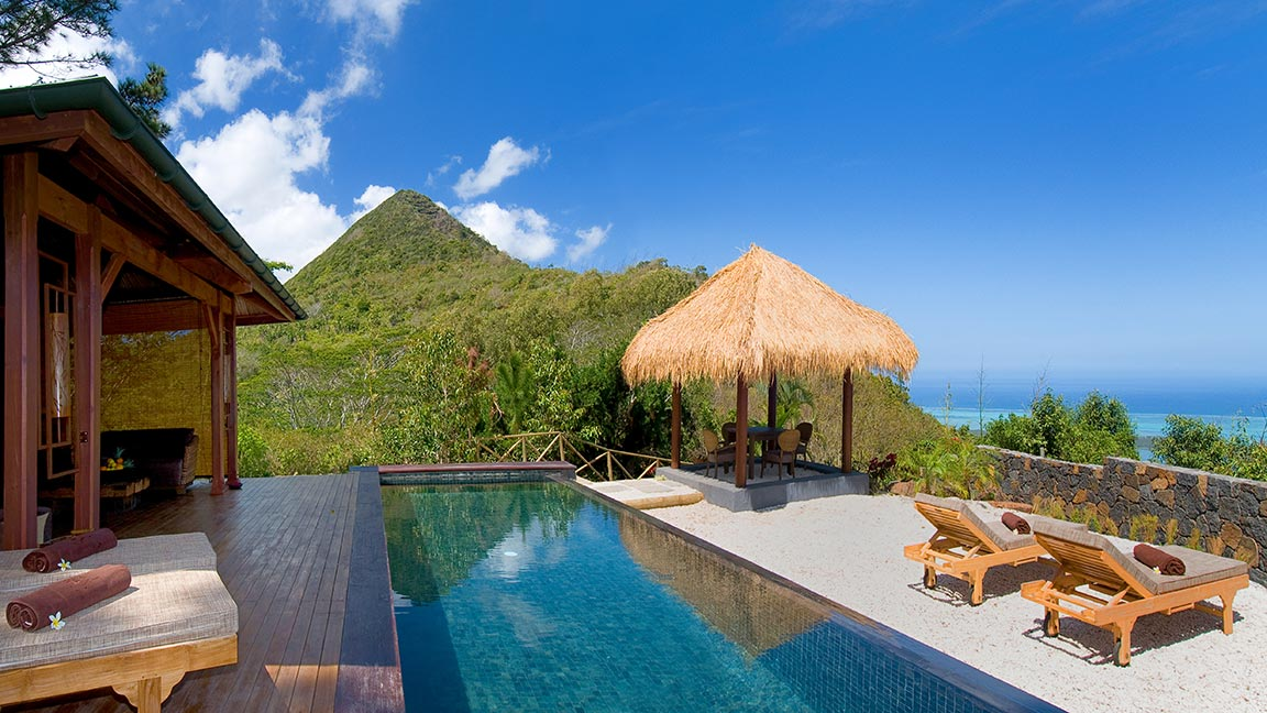 Lakaz Chamarel Exclusive Lodge - Atemberaubender Ausblick auf der insel