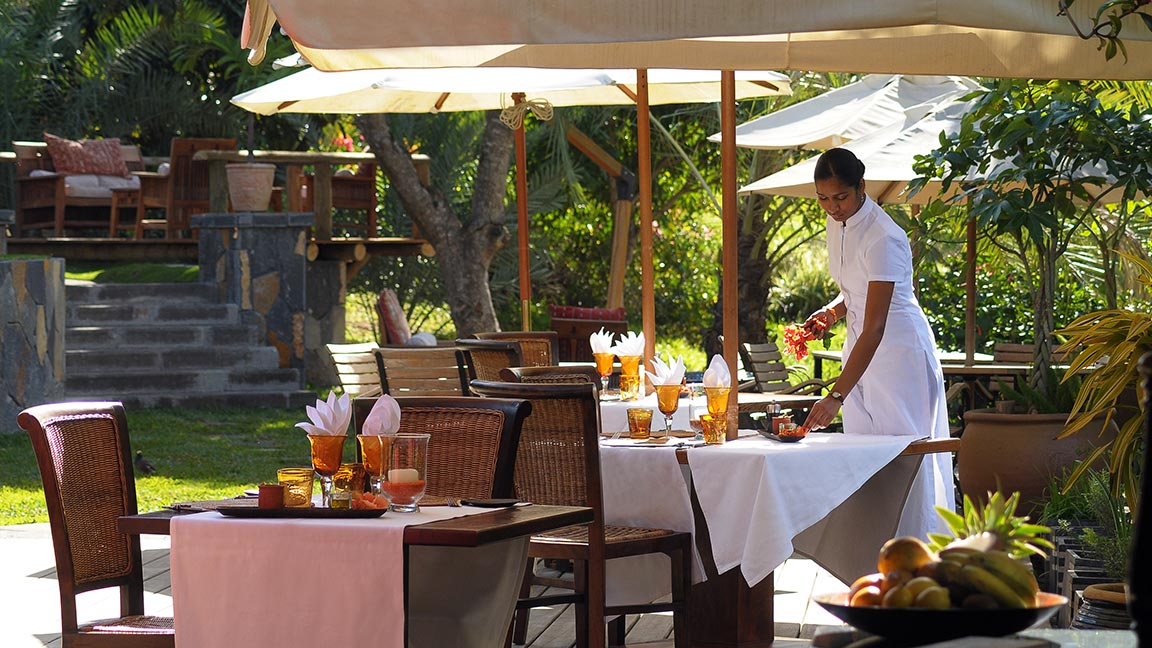 Lakaz Chamarel Exclusive Lodge - Restaurant