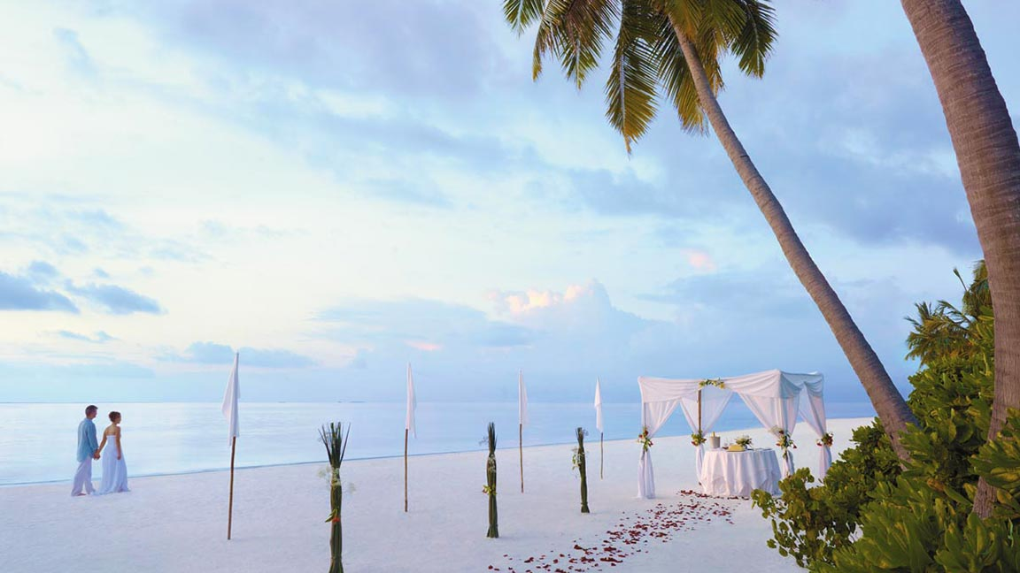 Shangri-La's Villingili Resort & Spa - Beach Hochzeit
