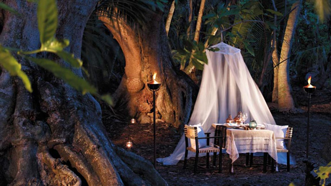 Shangri-La's Villingili Resort & Spa Zimmer